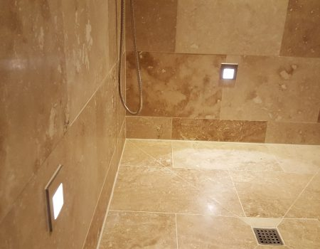 Shower room lights