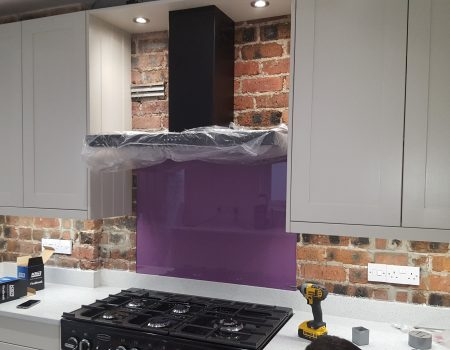 New kitchen electrics