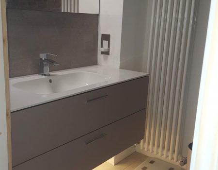 Bathroom lighting with PIR night LED strip light